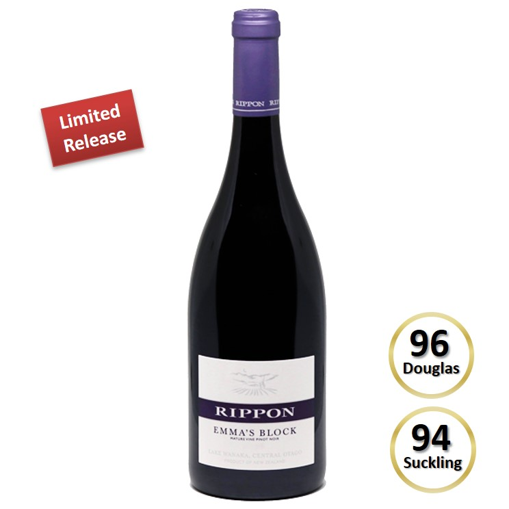 Rippon Emmas Block  Mature Vine Pinot Noir 2016